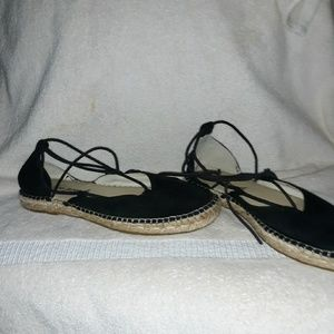 Free people Marina lace up espadrilles 36=6